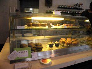 Die Kuchenauswahl