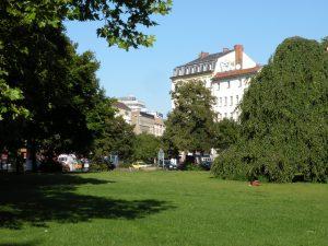 Auf dem Max-Josef-Metzger-Platz