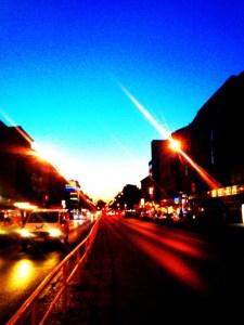 Lichter der Müllerstraße (Foto: K. Hagendorf)