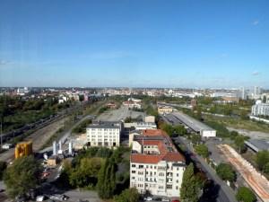 Blick über das künftige Europaviertel
