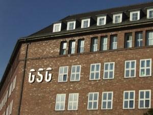 Telefunkenhaus an der Schwedenstr./Tromsöer Str.