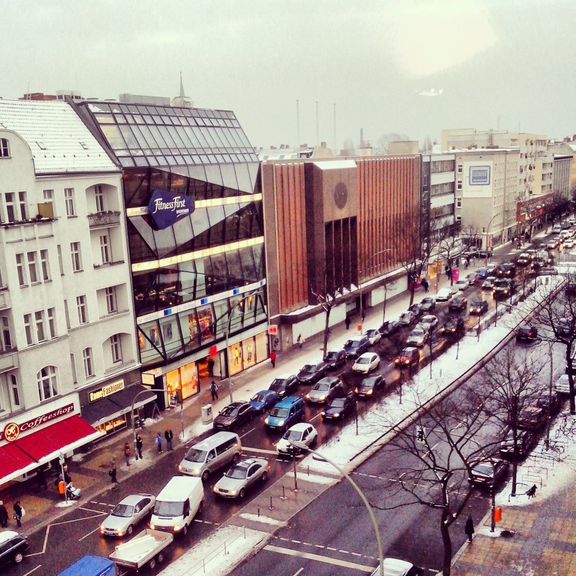 Müllerstraße von oben
