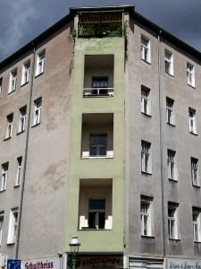 Eckhaus in der Groninger Straße