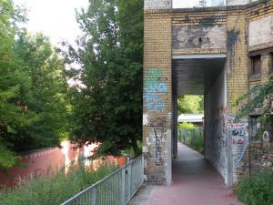 Hausdurchfahrt Wiesenburg Panke