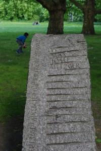 Gedenkstein Metzger