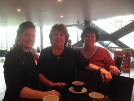 Im Film Café – mit zwei Gästinnen aus Reinickendorf