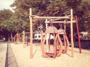 Afrikanischer Spielplatz