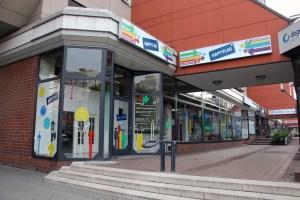 Das Happylab in der Demminer Straße Ecke Brunnenstraße. Foto: D. Hensel