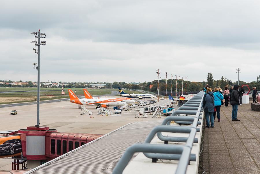 Blick in Richtung Terminal C