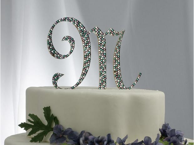 Monogram Cake Toppers In Dallas Fort Worth Texas