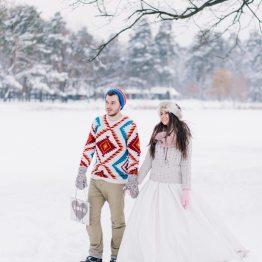 Утренняя тишина снежного леса: love-story Наташи и Рувима
