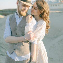 Среди зелени и песков: love-story Натальи и Антона