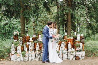 Эко-шик: свадьба Карэна и Яны