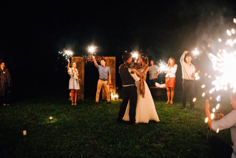 Волшебный лес: свадьба Даниила и Екатерины