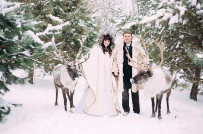 5 историй с зимних свадеб, как из сказки