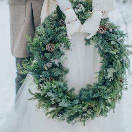 Магия зимы: стилизованная фотосессия