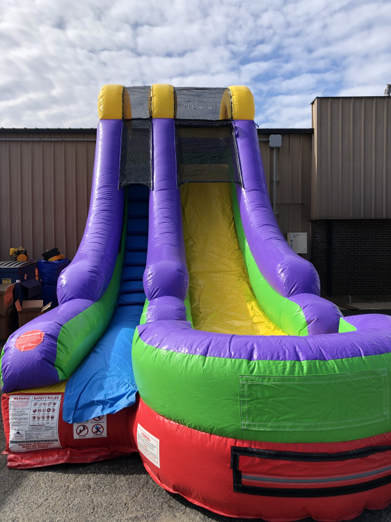 18ft Colorful Slide