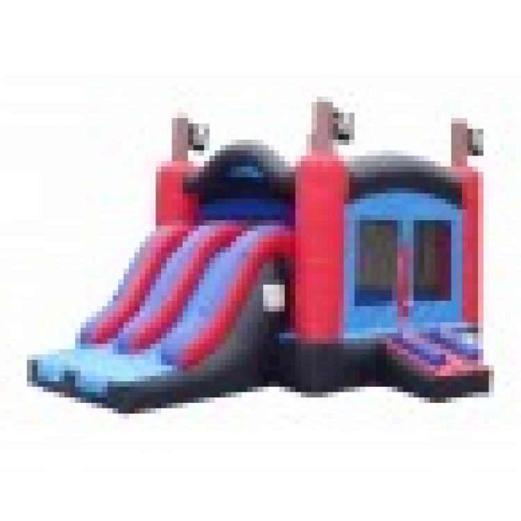 Pirate Combo: Bounce House and Slide