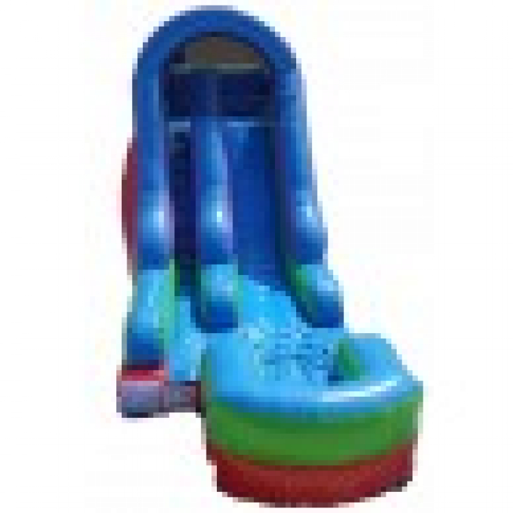 Colorful 15ft Slide