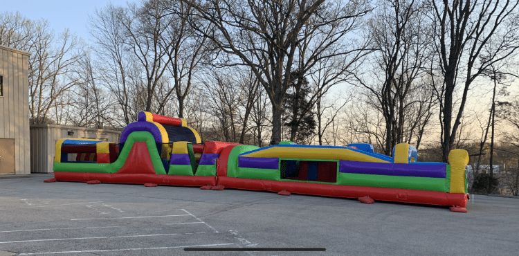 60ft Extreme Obstacle Course