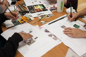 Students participate in design charrette