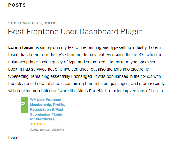 user submitted posts- guest blogging using WordPress