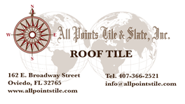 All Points Tile and Slate - Roof Tile