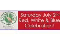 Wedgefield Red White & Blue Celebration