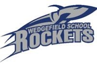 Wedgefield School Rockets Logo