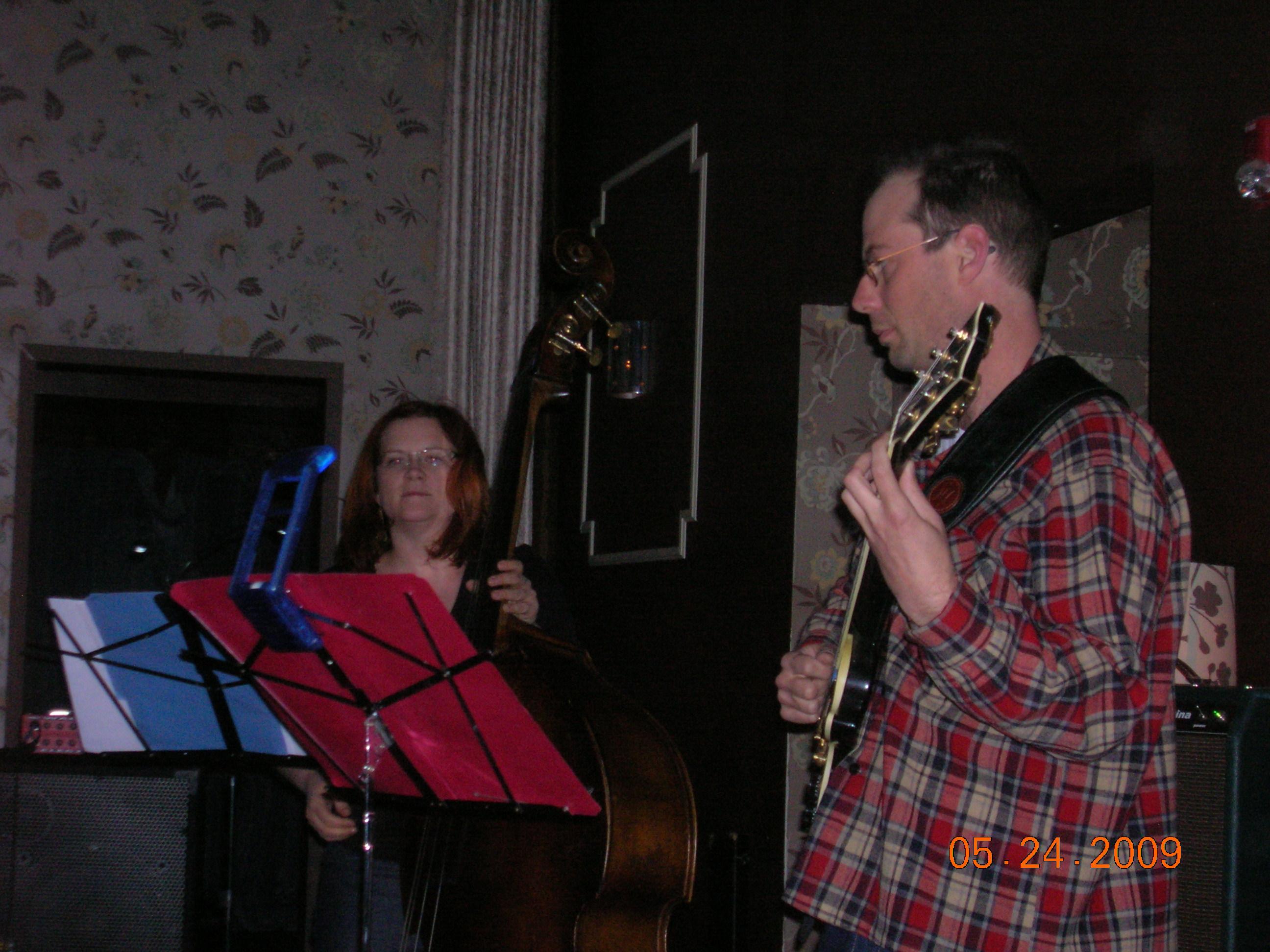 Lisa Mezzacappa, John Finkbeiner - Ivy Room, May 2009