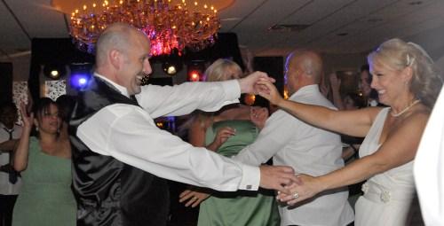 Fun Dancing at NJ Wedding Reception