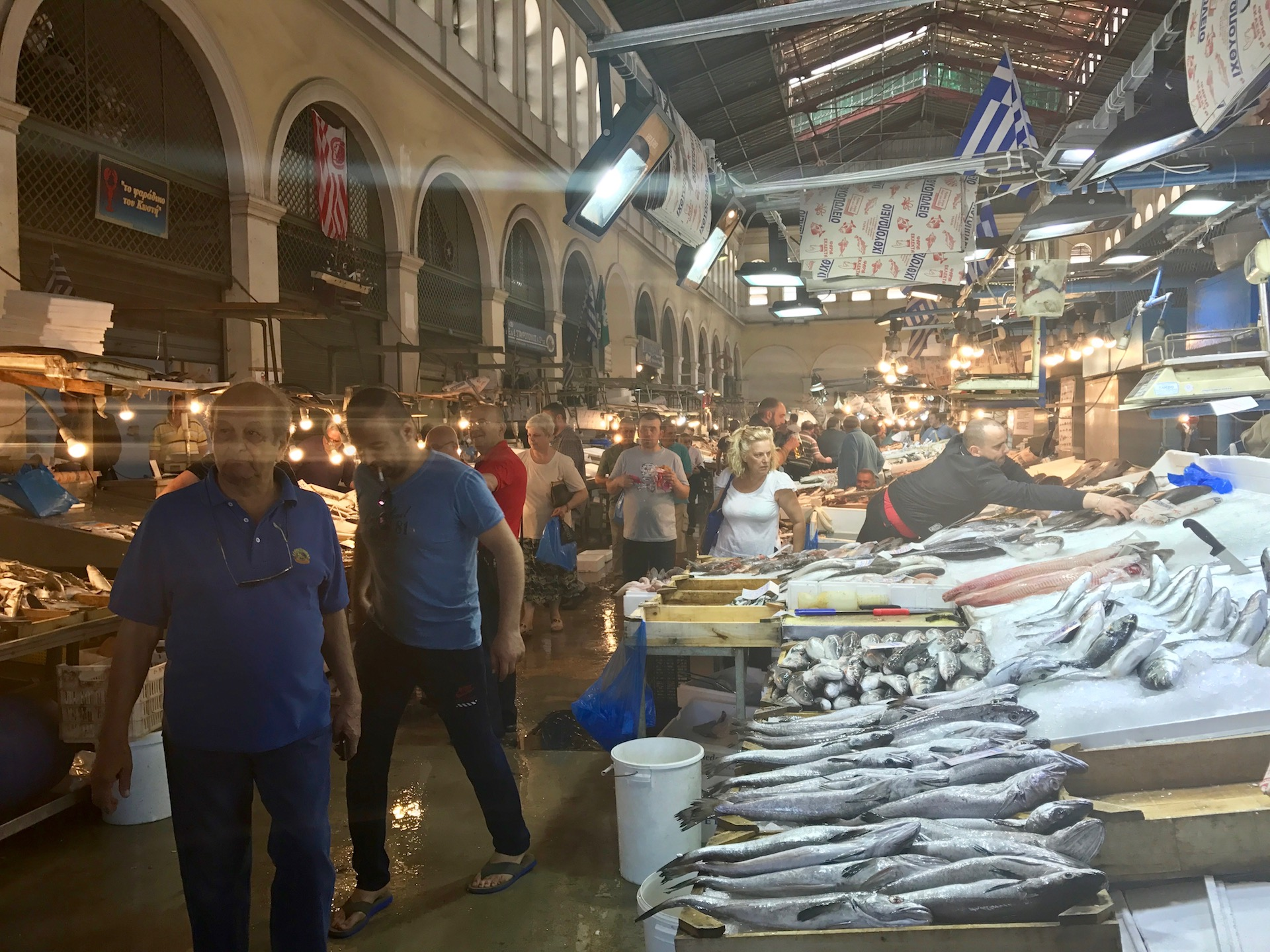 Athens retrospective rediscovering an ancient city we for City fish market