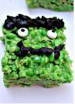 Frankenstein Rice Krispy Treat