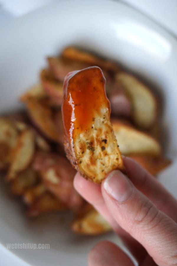 WW Friendly Air Fryer Potato Wedges