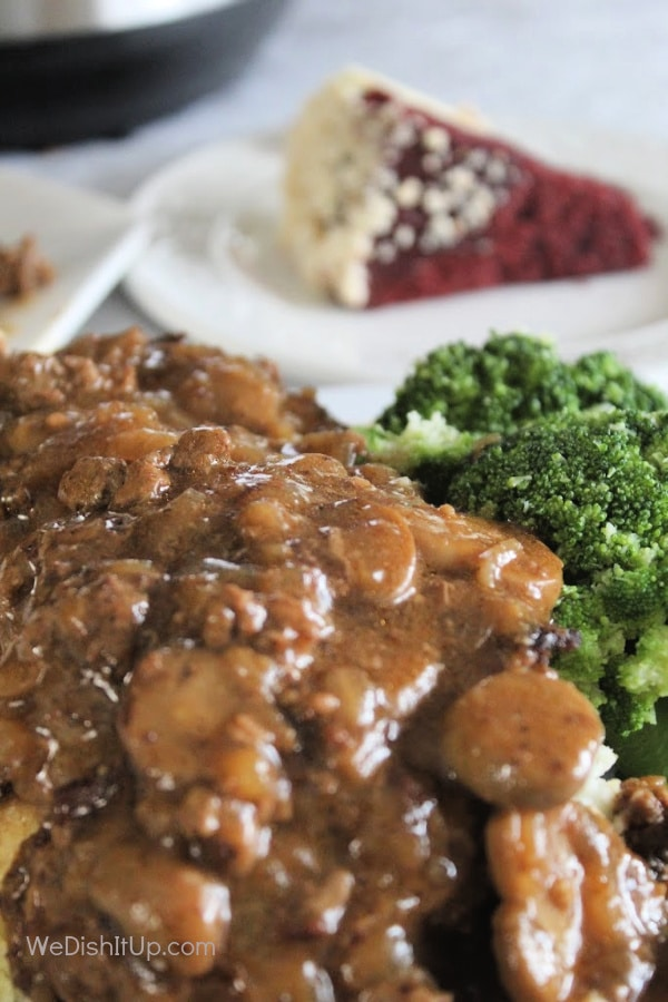 Salisbury Steak /mush