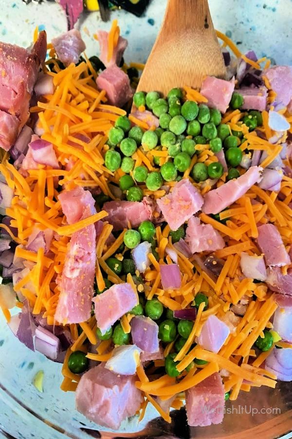 Pea Salad With Ham