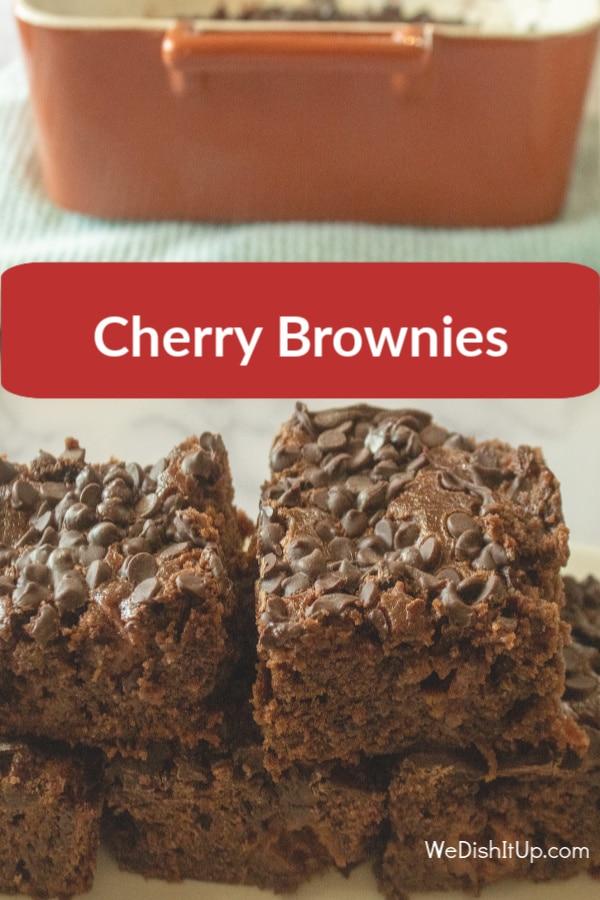 Easy Chocolate Cherry Brownies