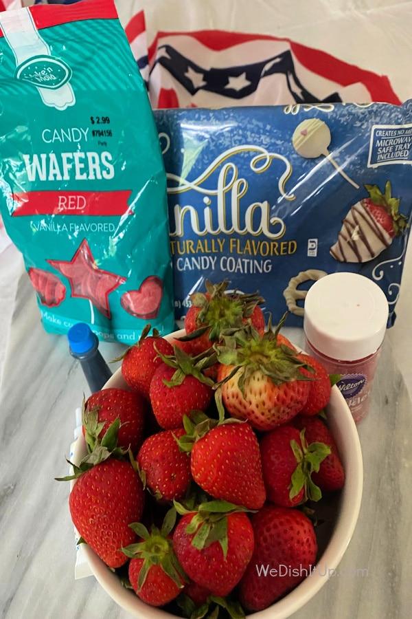 Strawberry Ingredients