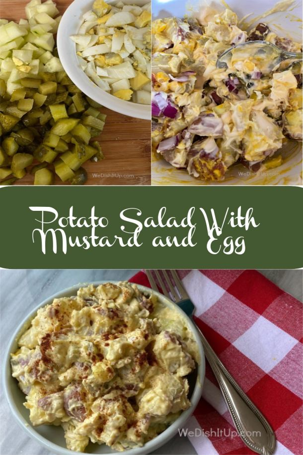 Potato Salad with Mustard and Egg