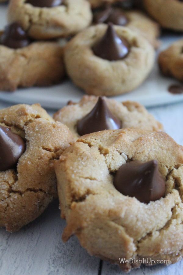Peanut Butter Blossom Cookies
