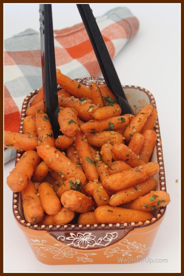 Carrots top Tongs