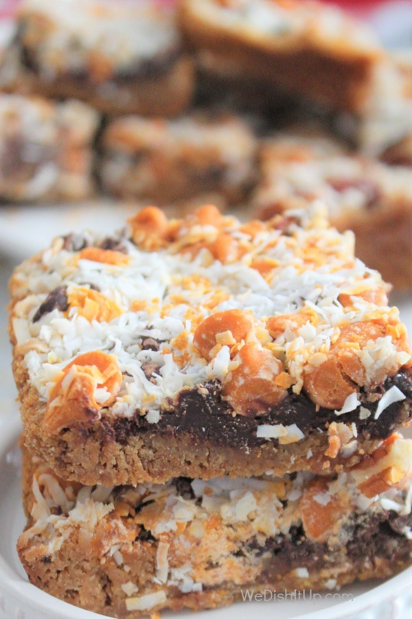 Magic Bars on stand