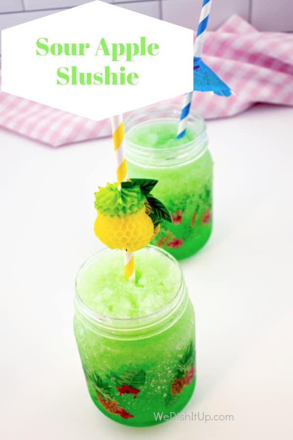 Sour Apple Kool-Aid Slushie
