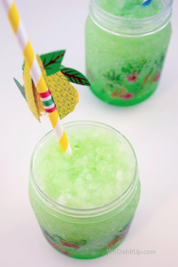 Sour Apple Kool-Aid Slush