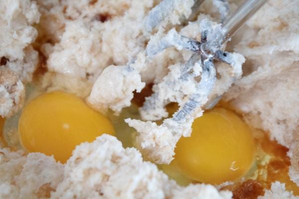 Adding the Eggs