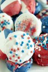 Red, White and Blue Oreos