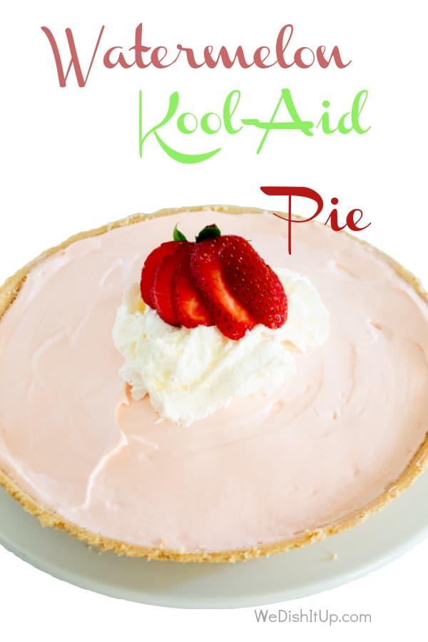 Watermelon Kool-Aid Pie