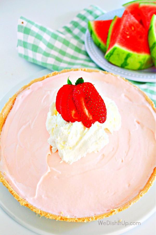 Easy to Make Watermelon Kool-Aid Pie