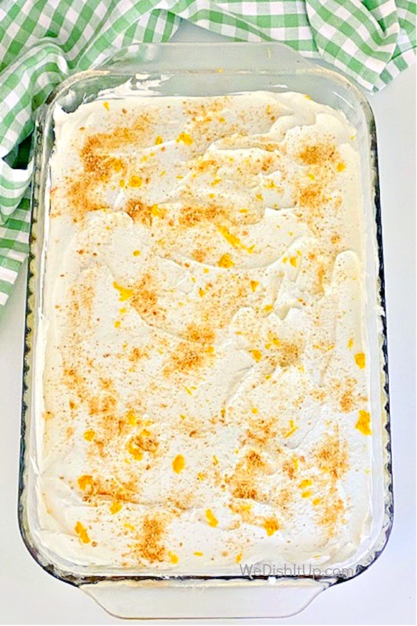 No-Bake Lemon Lush -Full Pan