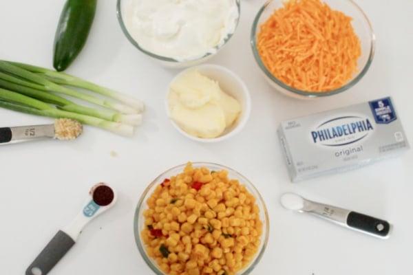 Ingredients for Dip